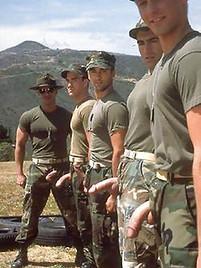 porn Gay military